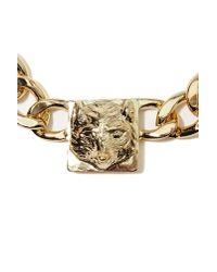 Nasty Gal - Metallic Sly Fox Collar Necklace - Lyst