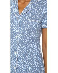 Cosabella - Bella Pajama Set - Bluet Flower/white - Lyst