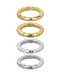 Sam Edelman | Multicolor Ringleader Four-piece Band Rings | Lyst