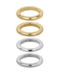 Sam Edelman | Multicolor Ringleader Four-piece Band Rings | Lyst