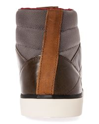 Volcom - Brown The Grimm Mid Sneaker for Men - Lyst