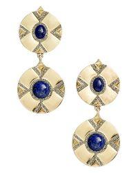 House of Harlow 1960 - Metallic 1960 'dorelia' Coin Earrings - Lyst