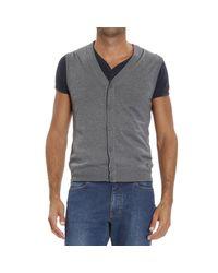 Z Zegna | Gray Ermenegildo Zegna Men's Sweater for Men | Lyst