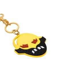Stella McCartney Multicolor Yellow Superstellaheroes Key Ring