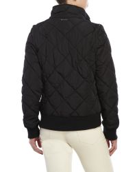 Marc New York - Black Convertible Quilted Moto Jacket for Men - Lyst