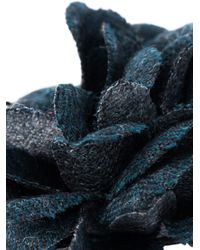 Lanvin   Blue Flower Pin   Lyst