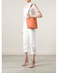 Chloé Blue Carey Tote Bag