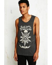 Obey Black X Suicidal Tendencies Possessed Tank for men