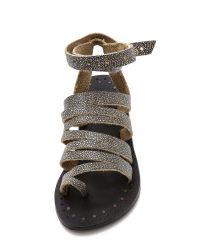 Free People - Sunever Sandals - Washed Black - Lyst