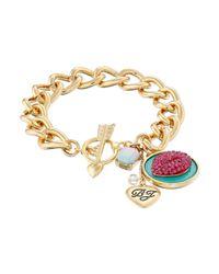 Betsey Johnson - Pink Ocean Drive Bracelet - Lyst