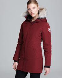 Canada Goose | Purple Victoria Coat | Lyst