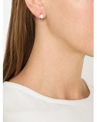 Pomellato | White 18kt Rose Gold 'm'ama Non M'ama' Earrings | Lyst