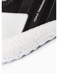 Y-3 | Black Boost Zg Knit Sneakers for Men | Lyst