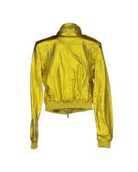 Burberry Brit Yellow Jacket