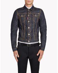DSquared² | Blue Jean Jacket for Men | Lyst