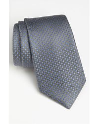 Michael Kors Gray Woven Silk Tie for men