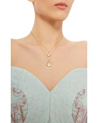 Renee Lewis - Metallic 18K Yellow Gold Antique Diamonds Star And Round Necklace - Lyst