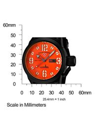 Swiss Legend | Submersible Black Silicone Orange Dial Black Ip Steel Case for Men | Lyst