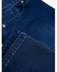Violeta by Mango Blue Slim Fit Silvia Jeans