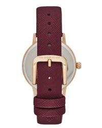 kate spade new york - Purple 5 O'clock Metro Watch - Lyst