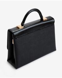 Ted Baker | Black Marilyn Large Crosshatch Tote Bag | Lyst