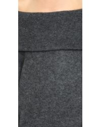 Acne Studios - Gray Daze Mohair Sweater - Black - Lyst