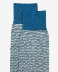 Ted Baker - Blue Textured Socks for Men - Lyst