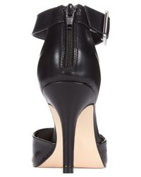 Style & Co. | Black Miloe2 Ankle Strap Pumps | Lyst