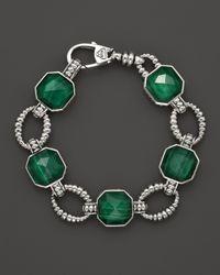 Lagos - Green Malachite Doublet Bracelet - Lyst