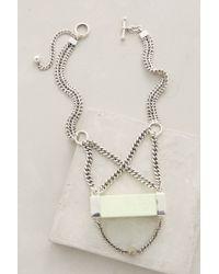 Maniamania | Green Alcina Pendant Necklace | Lyst