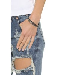 Shashi | Blue Maya Bracelet - Teal Multi | Lyst