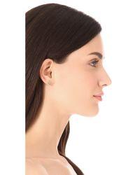 Ginette NY - Metallic Infinity Stud Earrings - Lyst