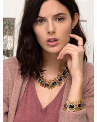 BaubleBar - Metallic Emerald Asterisk Bracelet - Lyst