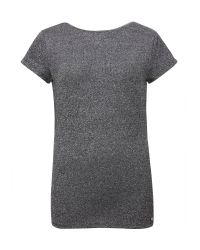 Ted Baker - Gray Misy Sparkle Fitted T-shirt - Lyst
