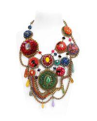 Sveva Collection - Multicolor Baku Necklace - Lyst
