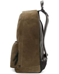 3.1 Phillip Lim Brown Tan Suede 31 Hour Backpack for men