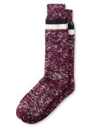 Banana Republic | Red Slubbed-stripe Sock for Men | Lyst