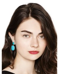 Kate Spade | Blue Pave The Way Statement Earrings | Lyst