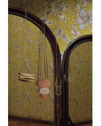 Anthropologie | Brown Horn Pavilion Necklace | Lyst