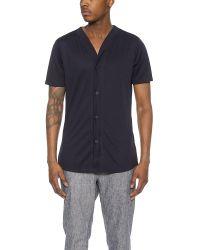Still Good - Blue Avant-garde Baseball Shirt for Men - Lyst