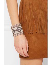 Saint Laurent | Natural Beaded Bracelet | Lyst