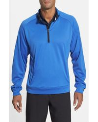 Cutter & Buck - Blue 'nano - Maxwell' Drytec Water Resistant Pullover for Men - Lyst