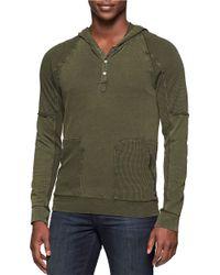 Calvin Klein Jeans | Green Acid Wash Hoodie for Men | Lyst