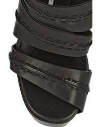 Camilla Skovgaard - Black Leather Sandals - Lyst