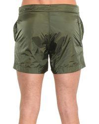 Tomas Maier Green Lightweight Swim Shorts for men