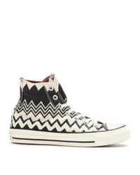 Converse - Black Chuck Taylor All Star High Sneakers - Lyst