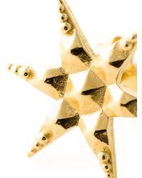 Zoe & Morgan - Metallic 'Anahata' Star Earrings - Lyst