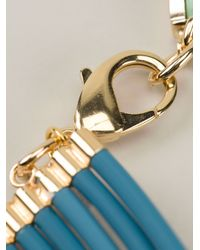 Silvia Gnecchi - Blue Six Circle Necklace - Lyst