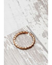 Forever 21 | Pink Shashi Pebble Midi Ring | Lyst