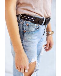 Will Leather Goods - Black Horse Hair Arrow Belt - Lyst